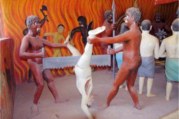 В аду грешников ждут тяжелые наказания. Монастырь в Вевуруканалла