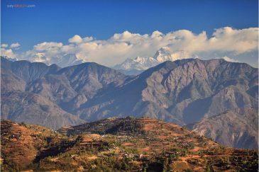 Гималаи, окрестности поселка Тансен