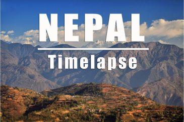 Таймлапс Непал