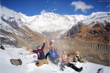 Эйфория от кислородного голодания на высоте 4300 м.