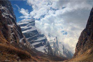 Гималаи по пути к базовому лагерю Аннапурны