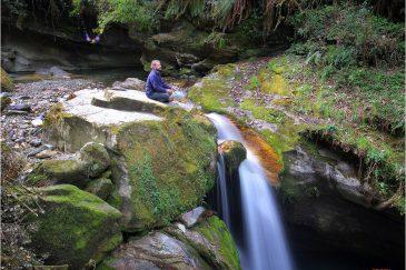 Водопад по дороге к ABC
