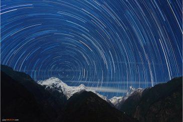 Звездные дорожки над Гималаями