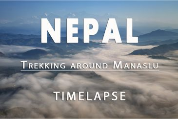 Таймлапс. Непал, треккинг вокруг Манаслу