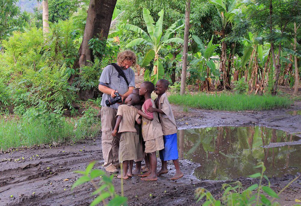 На берегу озера Ньяса в Танзании