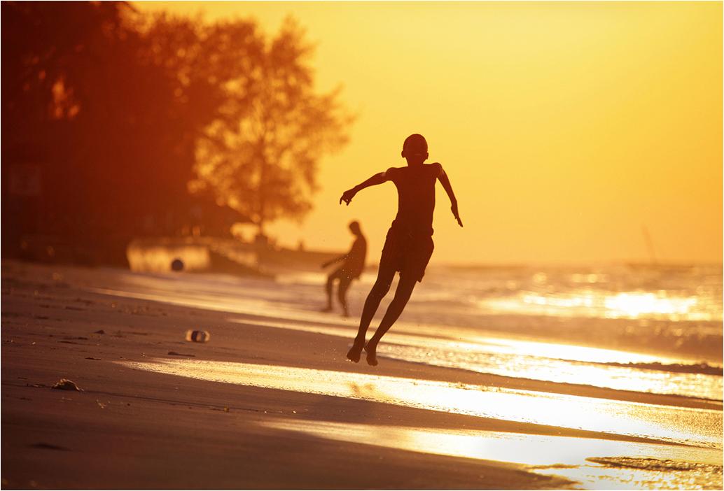 Tanzania2 - Полеты на занзибарском пляже