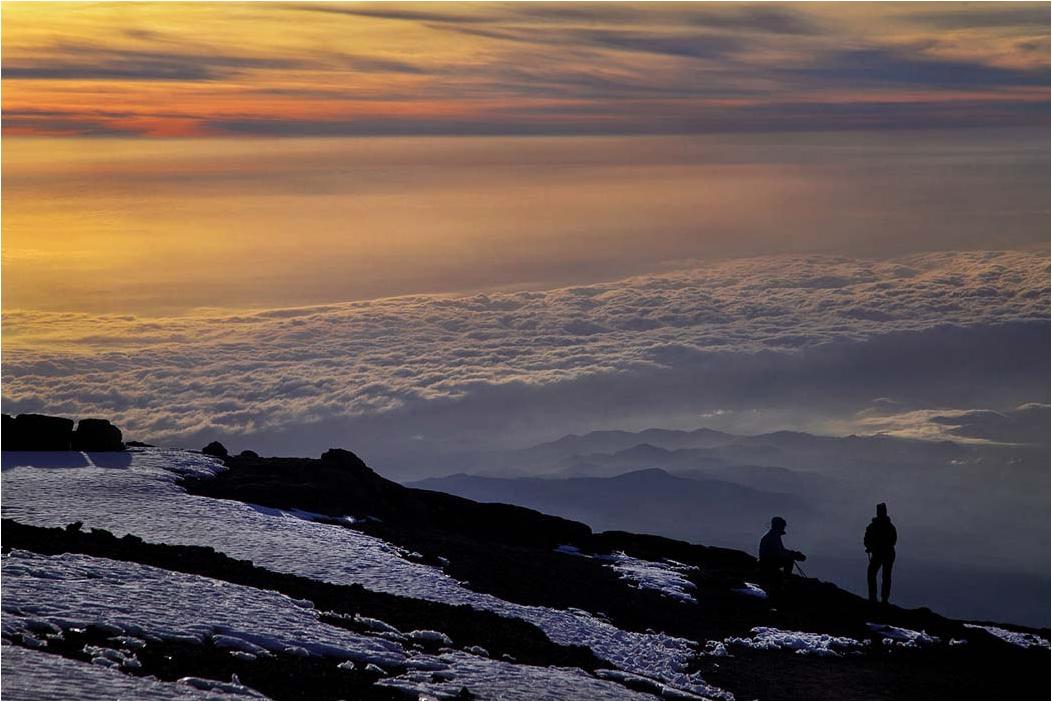 Tanzania3 - Рассвет на вершине Килиманджаро