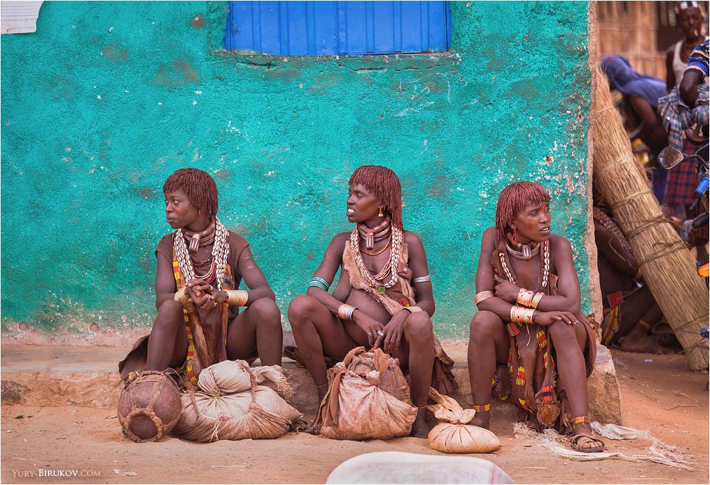 Девушки из племени хамар